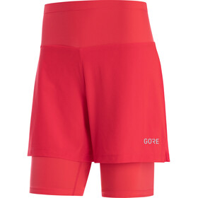 GORE WEAR R5 2in1 Shorts Damen hibiscus pink